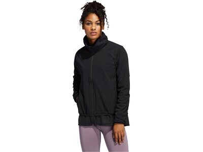 "ADIDAS Damen Trainingsjacke ""Woven Badge of Sport Full Zip Jacket"" Schwarz"