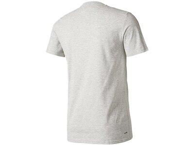 ADIDAS Fußball - Teamsport Textil - T-Shirts Tiro 17 Tee T-Shirt Dunkel Silber