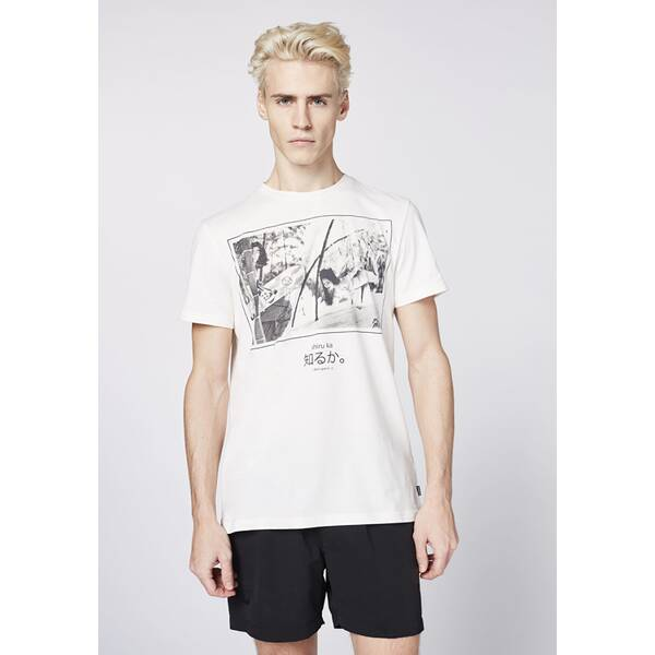 CHIEMSEE T-Shirt mit Fotoprint - GOTS zertifiziert   Bekleidung > Shirts > T-Shirts   Baumwolle - Jeans   Chiemsee