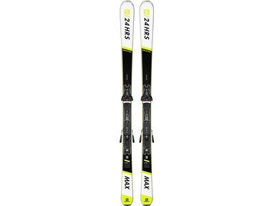 """SALOMON Skier """"E 24 Hours"""" inkl. Bindung """"Z12 GW"""" Weiß"""