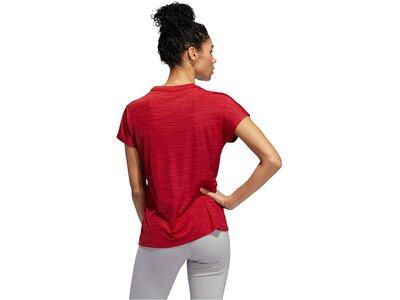"ADIDAS Damen T-Shirt ""SS Bos Logo Tee"" Kurzarm Rot"
