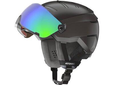 ATOMIC Herren Helm SAVOR GT AMID VISOR HD Black Grau