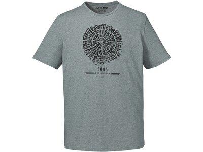 "SCHÖFFEL Herren Shirt ""T Shirt El Chorro2"" Kurzarm Silber"