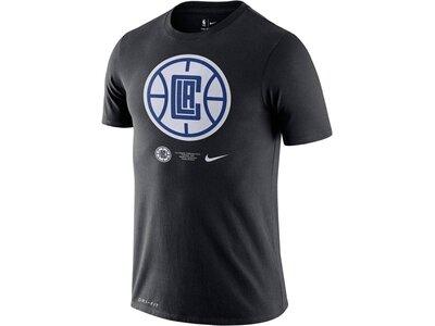 """NIKE Herren T-Shirt """"NBA LA Clippers Logo"""" Schwarz"""