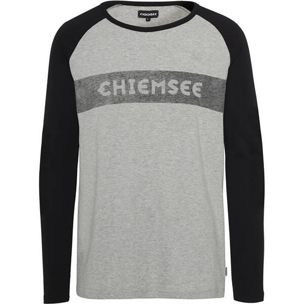 CHIEMSEE Longsleeve mit Logo Frontdruck