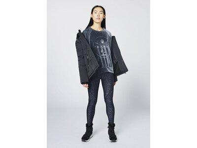 CHIEMSEE Oversize Sweatshirt aus Samt Schwarz