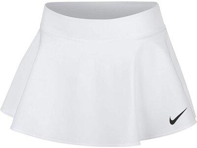 NIKE Mädchen Tennisrock Court Pure Grau