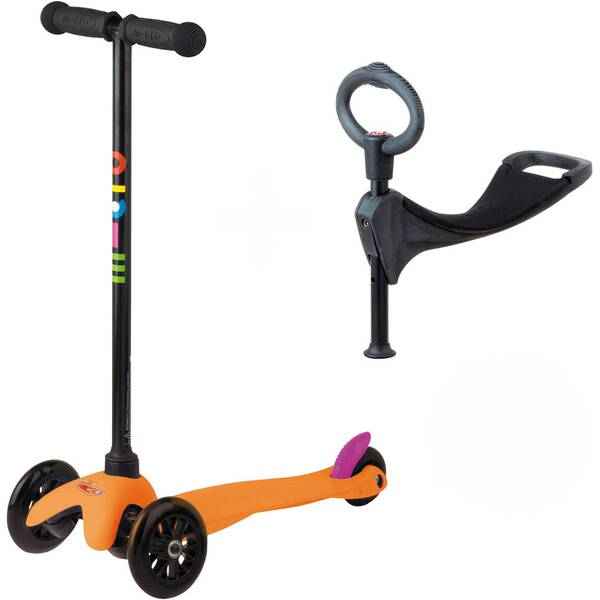 """MICRO Kinder Kickboard / Scooter """"Mini Micro 3in1"""""""