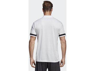 ADIDAS Herren 3-Streifen Club Poloshirt Weiß