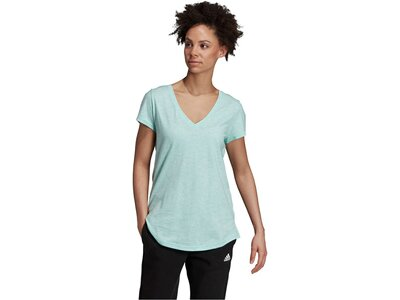 ADIDAS Damen T-Shirt Id Winners Silber
