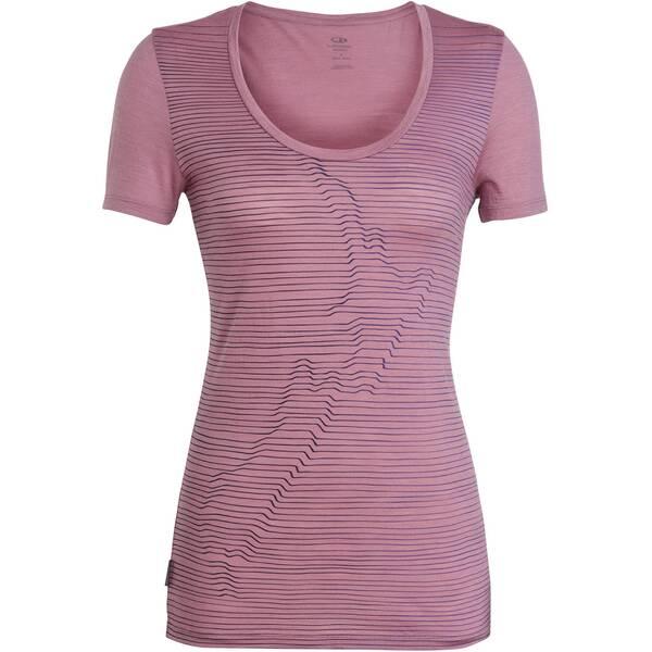 """ICEBREAKER Damen Outdoor-Shirt """"Spector S/S Scoop NZ Relief"""""""