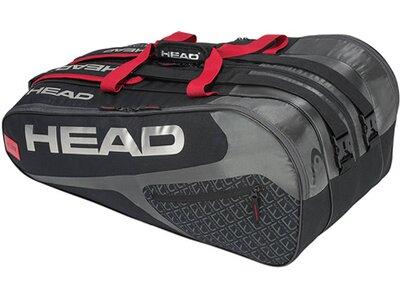 """HEAD Tennistassche """"Elite 12R Monstercombi"""" Rot"""