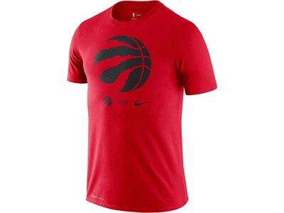 "NIKE Herren T-Shirt ""NBA Raptors Logo"" Rot"