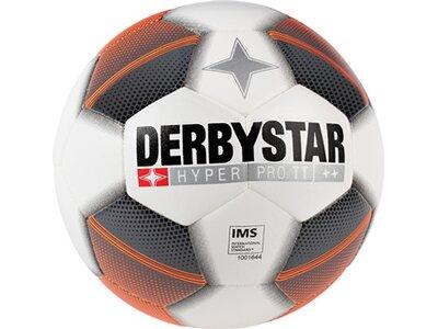 DERBYSTAR Equipment - Fußbälle Hyper Pro TT Fussball Grau