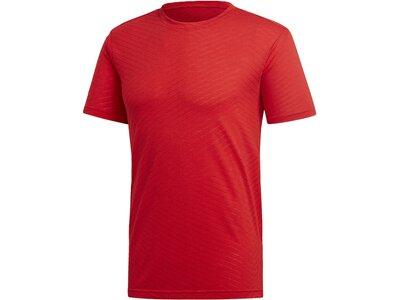 ADIDAS Herren T-Shirt FreeLift Aeroknit Rot
