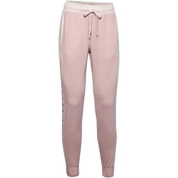 Hosen - UNDERARMOUR Damen Sweathose Recover Knit Pant › Pink  - Onlineshop Intersport