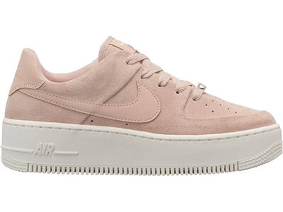 "NIKE Damen Sneaker ""Air Force 1 Sage"" Grau"