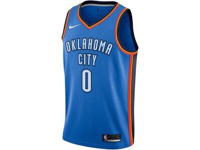 "NIKE Herren Basketball Trikot ""Russell Westbrook Icon Edition Swingman"" Ärmellos Blau"