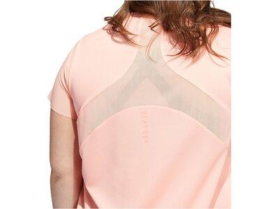 "ADIDAS Damen Fitness T-Shirt ""Heat.Rdy"" - Plus Size Pink"