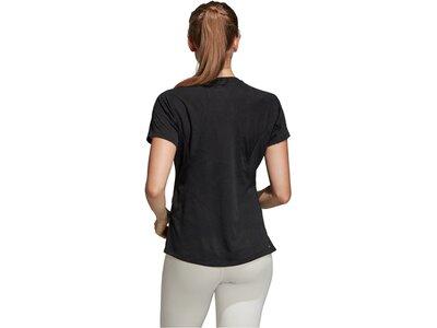 ADIDAS Damen T-Shirt Aeroknit Schwarz