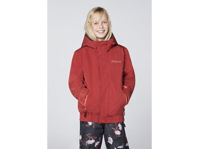CHIEMSEE Skijacke mit Skipass Tasche Rot