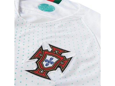 NIKE Herren Fußballtrikot Portugal Away Stadium WM 2018 Weiß
