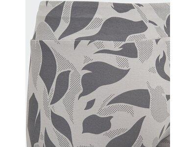 ADIDAS Kinder Linear Printed Tight Grau