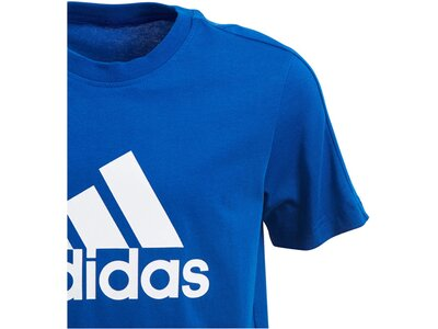 ADIDAS Kinder T-Shirt YB Logo Tee Blau