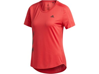 "ADIDAS Damen Laufshirt ""Run It 3S"" Rot"