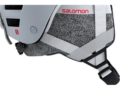 "SALOMON Damen Skihelm ""QST Charge W"" Silber"