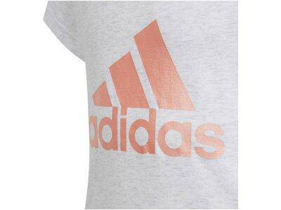 """ADIDAS Mädchen Trainingsshirt """"ID Winner"""" Silber"""
