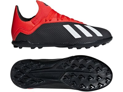 ADIDAS Fußball - Schuhe Kinder - Turf X 18.3 TF J Kids Grau