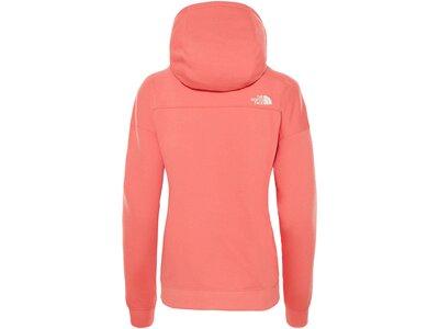 "THENORTHFACE Damen Sweatshirt mit Kapuze ""Light Drew Peak"" Orange"