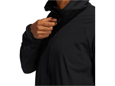"ADIDAS Damen Trainingsjacke ""Woven Badge of Sport Full Zip Jacket"" Schwarz"