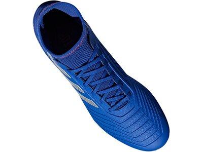 ADIDAS Fußball - Schuhe - Kunstrasen Predator Virtuso 19.3 AG Blau