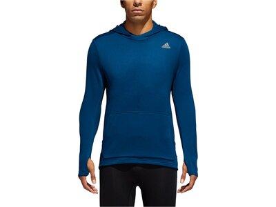 """ADIDAS Herren Laufshirt """"Own the Run"""" Langarm Blau"""