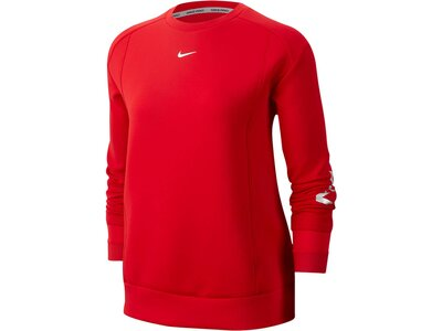 "NIKE Damen Sweatshirt ""Pro Womens Fleece Top"" Rot"