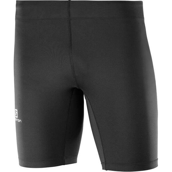 SALOMON Herren Lauftights Agile Short Tight | Sportbekleidung > Sporthosen > Tights | Black | Jersey | SALOMON