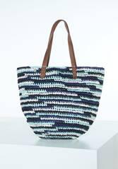 CHIEMSEE Strandtasche Straw Beach Bag