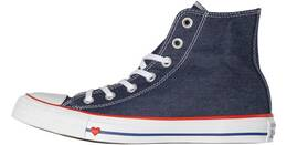 "Vorschau: CONVERSE Damen Sneaker ""Chuck Taylor All Star Sucker Love Denim High Top"""
