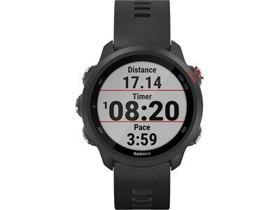 """GARMIN GPS-Laufuhr """"Forerunner 245 Music"""" schwarzes Armband Schwarz"""