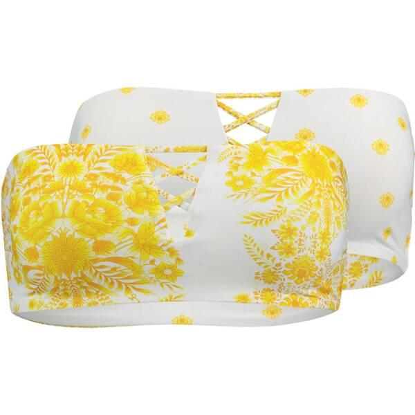 Bademode - SEAFOLLY Wende Bandeau Bikini Sunflower › Gelb  - Onlineshop Intersport