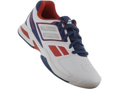 """BABOLAT Kinder Indoor Tennis-Schuhe """"Propulse Jr"""" Weiß"""
