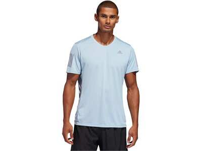 "ADIDAS Herren Laufshirt ""Own the run"" Kurzarm Grau"