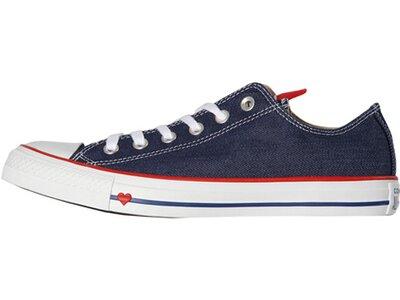 """CONVERSE Damen Sneaker """"Chuck Taylor All Star Denim Love"""" Rot"""
