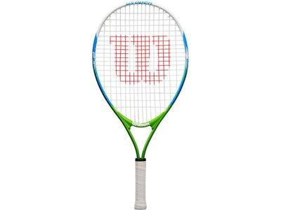 """WILSON Kinder Tennisschläger """"US Open 23"""" - besaitet - 16x19 Weiß"""