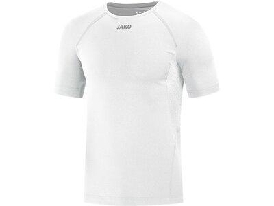 JAKO Herren T-Shirt Compression 2.0 Weiß