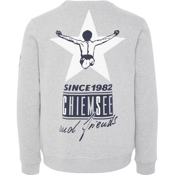 CHIEMSEE Sweatshirt  mit großem Rückenprint