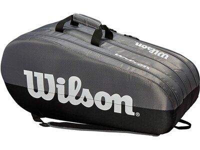 """WILSON Tennisschlägertasche """"Team 3 Comp"""" Grau"""