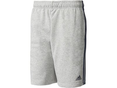 "ADIDAS Herren Trainingsshorts ""Essentials 3S French Terry Short"" Grau"